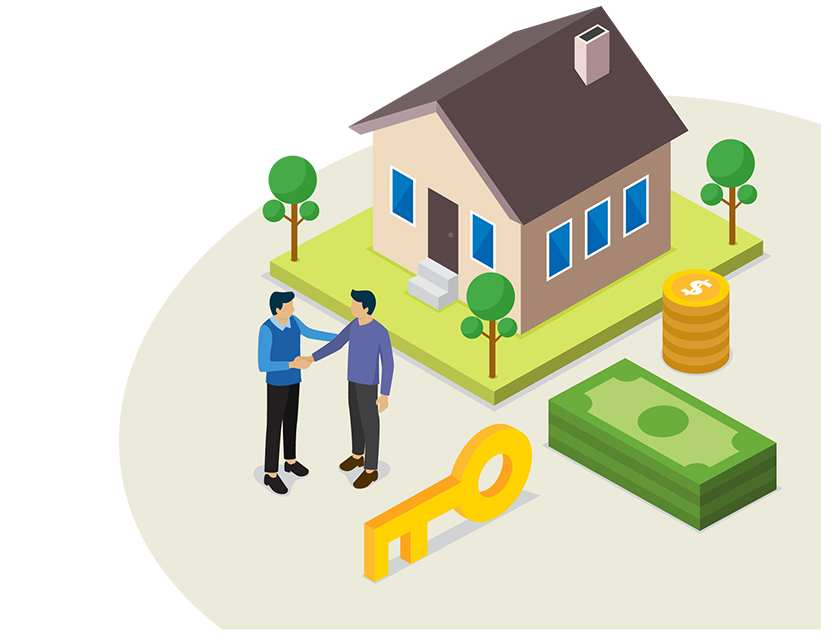 You can recover the property after successful repayment.